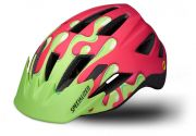 Specialized kask Shuffle Youth LED z MIPS różowo-zielony
